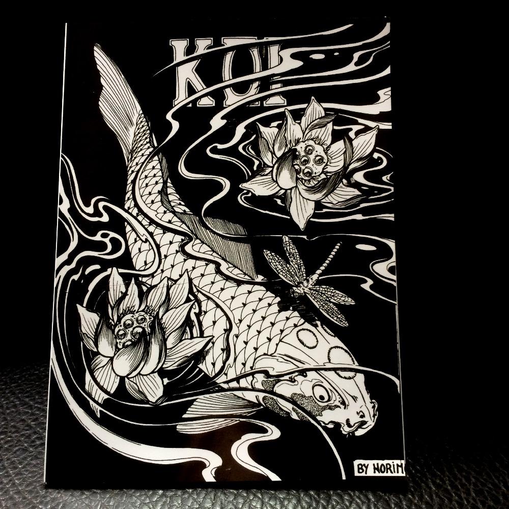 Koi tattoo designs achetez des lots petit prix koi for Koi japonais prix