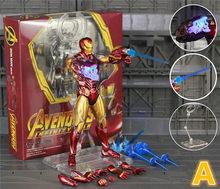 """Marvel Homem De Ferro 2019 Avengers 4 Endgame MK85 6 """"Repintado Personalizado Figura de Ação Ironman Mark 85 KO SHF tony Stark Lendas Brinquedos(China)"""
