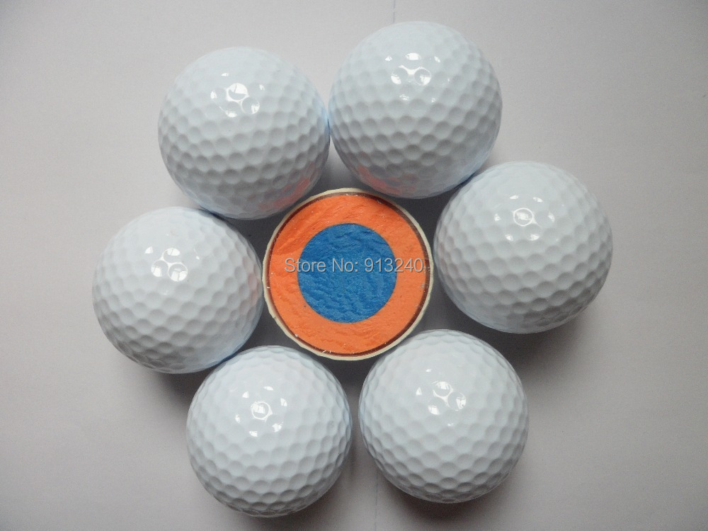 white 4 piece golf tournament balls in golf balls from