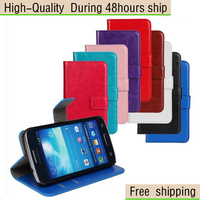 Crazy Horse Style Leather Wallet Stand Case Cover For Samsung Galaxy Express 2 G3815