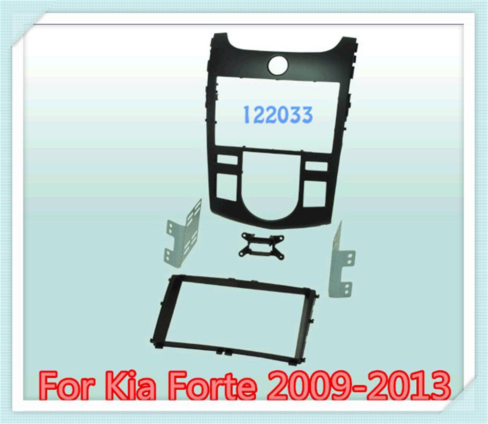 2 din carro fascia kit / Car Fascia Panel Audio Frame Dash Kit Kia Forte 2009 2010 2011 2012 2013 - Shenzhen Being Lucky Trading Co.,Ltd store