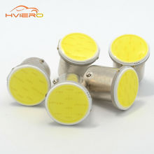 1pcs White cob p21w 12 smd 12SMD 1156 1157 BA15S DC 12v bulbs RV Trailer Truck car styling Light parking Auto led Car lamp