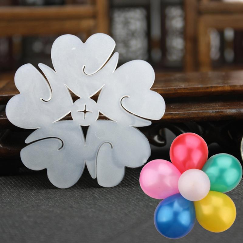 New Balloon Seal Clip Balloons Sticks Plum Flower Clip Tie Foil Balloon Sealing Clamp Wedding Party Supplies Kids Gifts Toy 1pc(China (Mainland))
