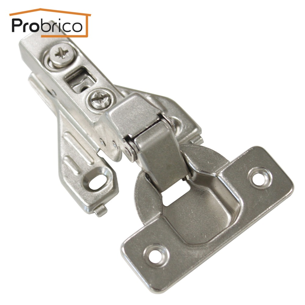 Probrico 20 Pair Soft Close Insert Face Frame Cabinet Hinge CHRH04HC Kitchen Furniture Concealed Cupboard Door Hinge(China (Mainland))