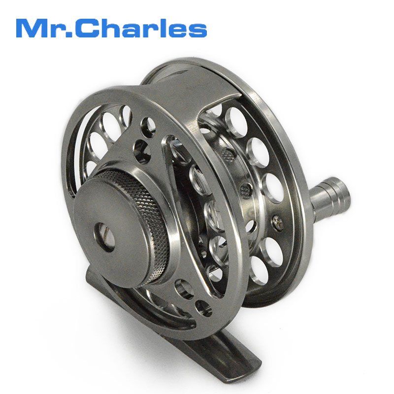 Mr Charles 70mm Fly reel + spare spool large arbor design fly fishing reel and spool set 3BB from BAR-STOCK ALUMINUM(China (Mainland))