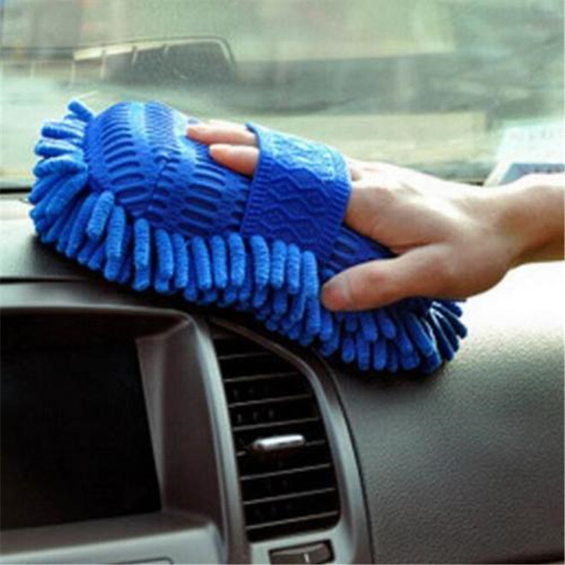 New Microfiber Chenille Anthozoan Car Cleaning Sponge Towel Cloth Wash Supplies(China (Mainland))