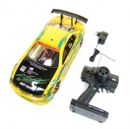 2.4G HSP 1/10th Scale Brushed RC Electric On-Road Drifting Car RTR (Model NO.:94123) with 4WD System, Motor, Battery(China (Mainland))