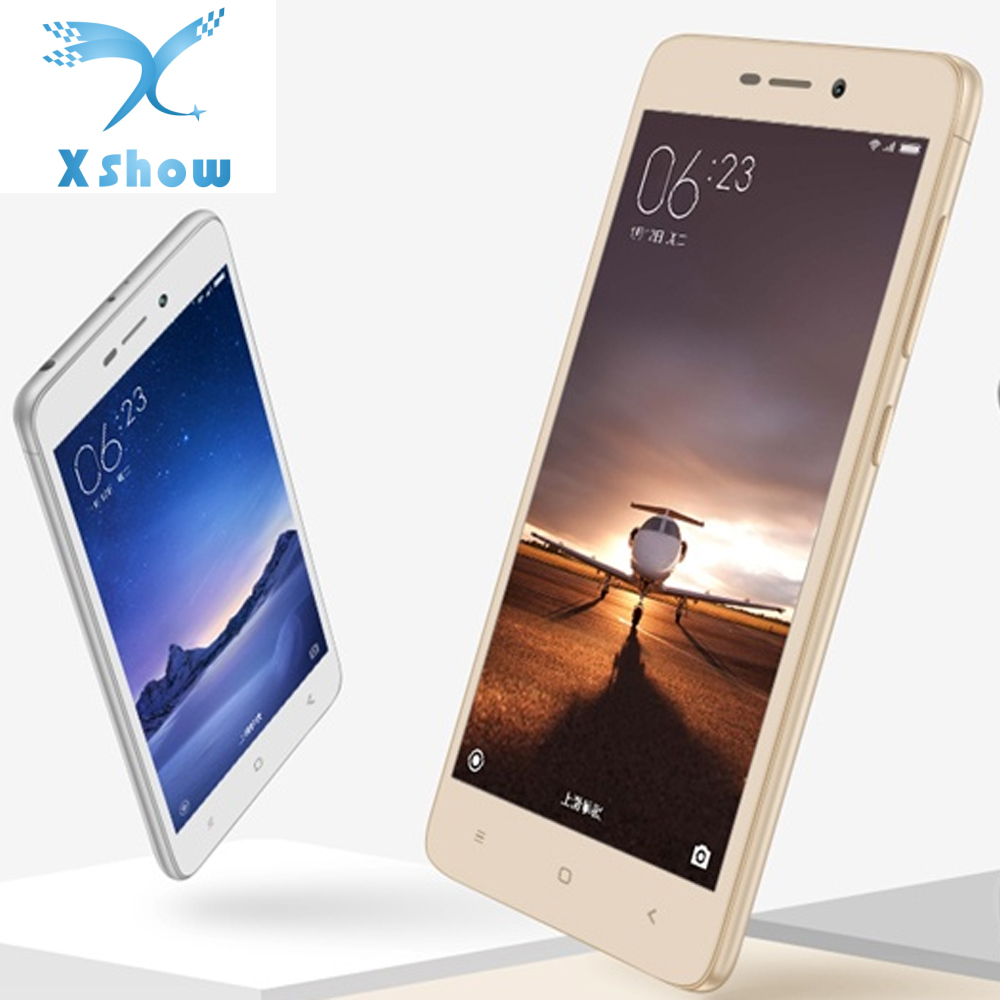 "free shipping Xiaomi Redmi 3 Metal Body Red Rice 2 4100 mAh Snapdragon 616 Octa Core 5"" 1280X720 FDD LTE Mobile Phone(China (Mainland))"