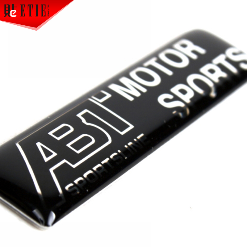 2015 etie vw abt automobile sticker aluminium logo emblems - Decoration murale auto adhesive ...