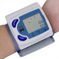 New Portable Gauge Tester Heart Beat Meter With LCD Display Home Care Automatic Digital Wrist Blood