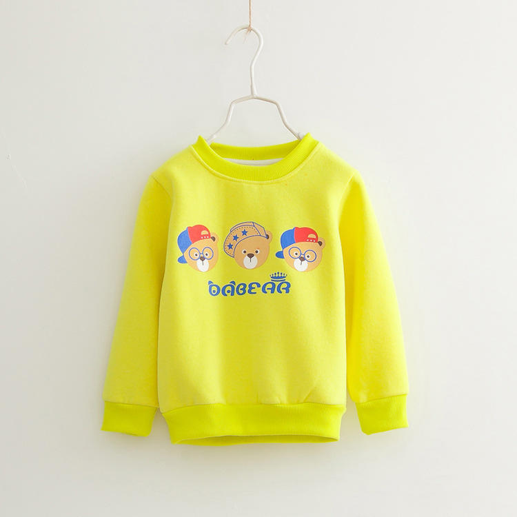 Fashin winter children fleece sweatshirt girls hoodies cute bear boys baby pullover - Vivi Fashion., LTD store