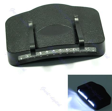 Black 11 LED Flashlight Camping Clip-On Cap/Hat Light - Worldlet Store store