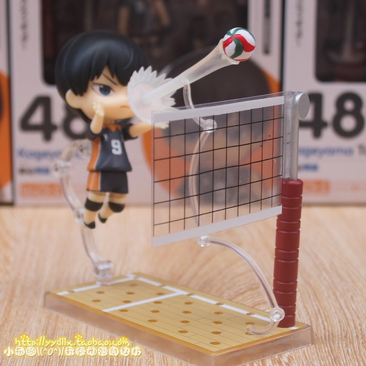 Tobio Kageyama Haikyuu No.9 Anime Action Figurine Toy Nendoroid 489 # Haikyu!