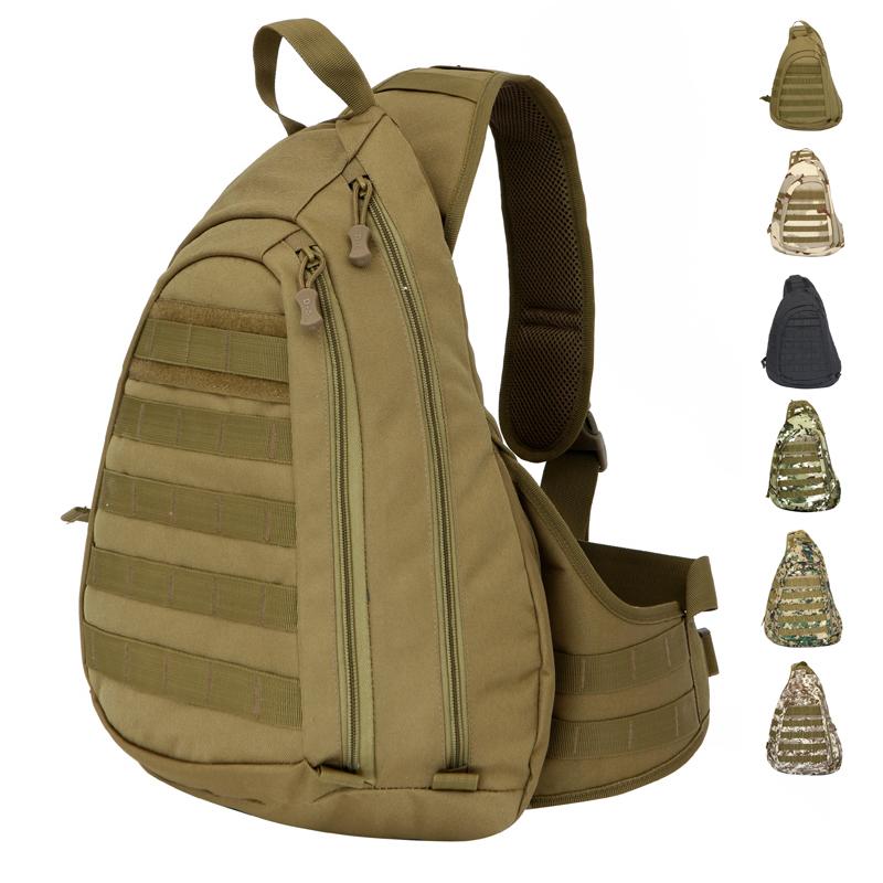men Tactical Chest bag Outdoor Sport Large capacity Bag Advanced men's travel bags - Super deal Store store