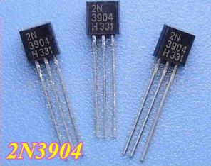 Free Shipping 100pcs/lot 2N3904 TO-92 Transistor(China (Mainland))