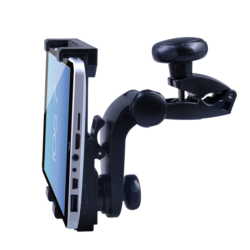 Adjustable universal headrest tablet mount,back seat headrest holder car headrest stand for ipad H69+C19(China (Mainland))