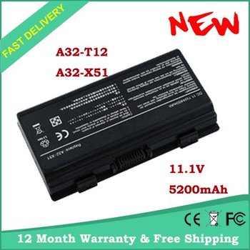 free shipping New Battery A32-X51 for ASUS T12Ug X51H X51L X51R X51RL T12 T12C T12Er T12Fg T12Jg T12Mg