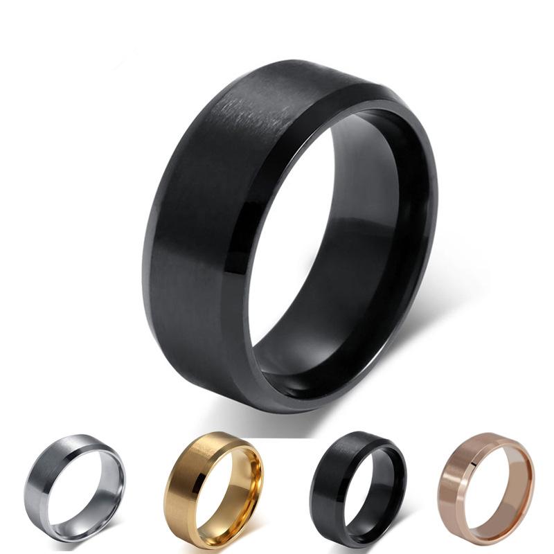 aliexpress buy fashion silver black gold ring