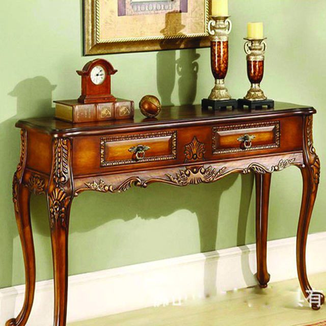 Buy Foyer Furniture : Aliexpress buy european antique console table