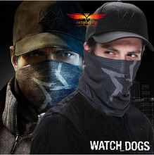 Watch Dogs Aiden Pearce Cosplay Black Hat and Face Mask Scarf For Cosplay Costume One Size(China (Mainland))