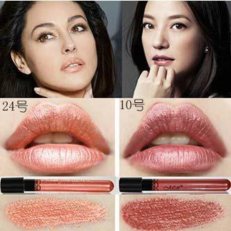 Hot Sales Women Ladies Waterproof Elegant Color Lipstick Matte Smooth Lip Stick Lipgloss Long Lasting Sweet Girl Lip Makeup(China (Mainland))