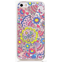 For iphone 5 5s SE phone case Hot TPU Painting Colorful flower soft flexible Case Cover back bag for iphone 5 5s