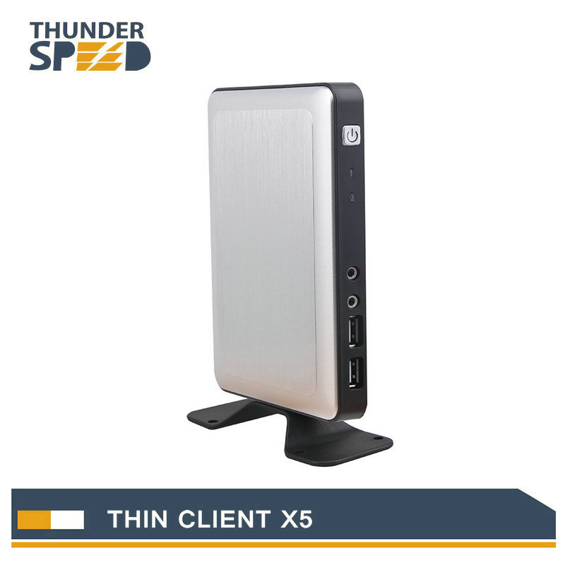 Newest Linux Embedded Thin Client X5 PC Station Mini PC Connect Server via RDP8.0 Protocol with Free Shipping(China (Mainland))