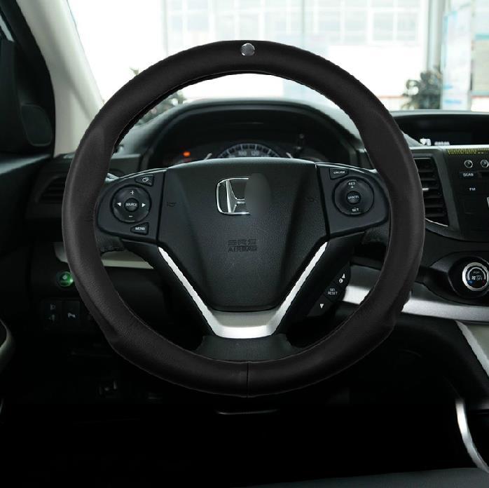 Honda Crv Car Cover Of New Simple Luxury Leather Design Car Steering Wheel