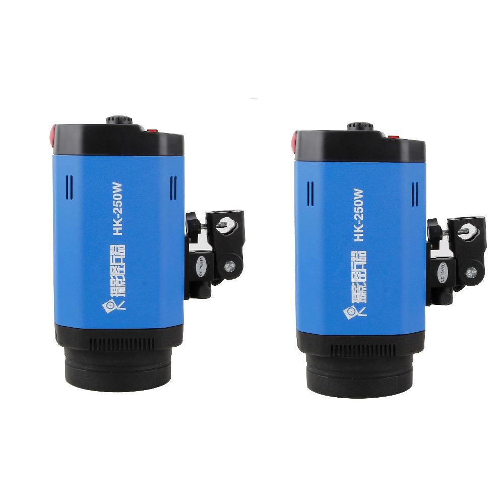 Photography Lighting Kit 2Pcs Softbox + 2Pcs Tripod + 2Pcs Flash Lamp  Photo Studio Equipment Set