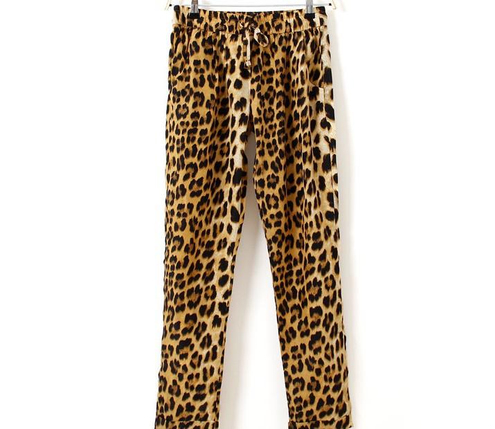 Брюки Леопардовые С Доставкой