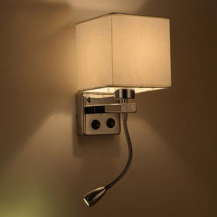 Acquista moderna breve comodino lampade for Lampade da parete a led ikea