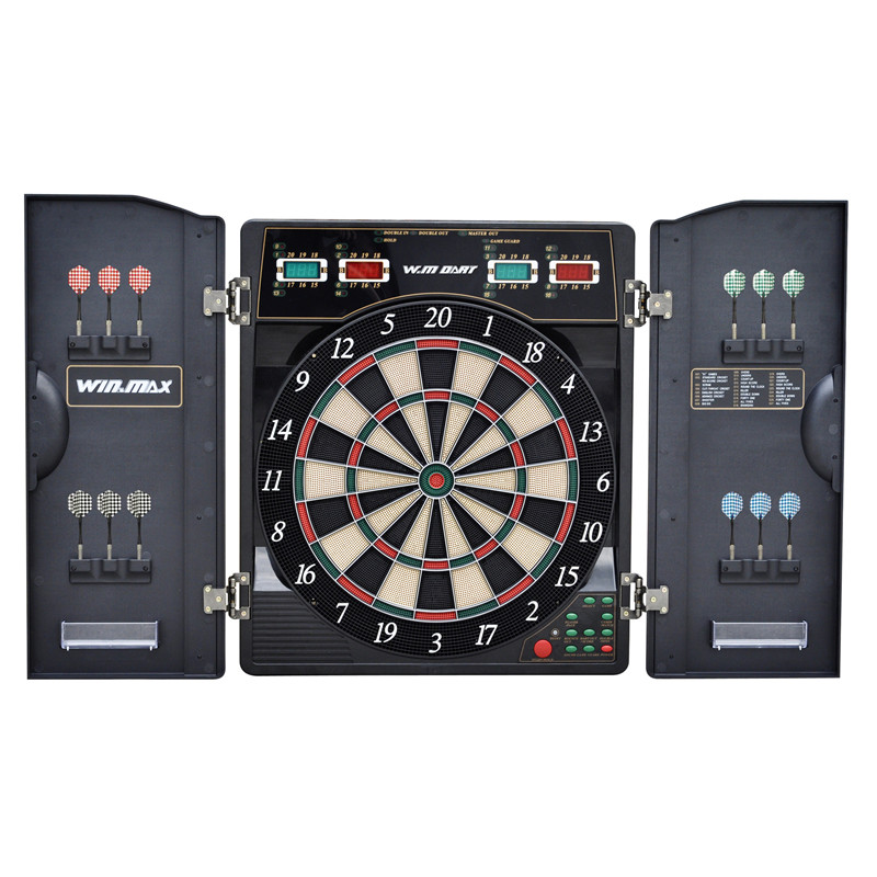Professional Electronic Dartboard Target Dart Game Set With 12pcs Darts for Adults Playing 27 Games 159 Different Gameplay 18''(China (Mainland))