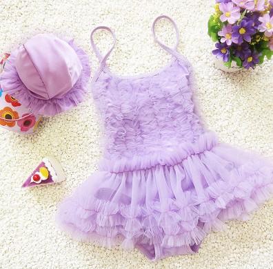 2015 Infant Baby Girls Toddler Swimwear Leopard Bikini Kids Bathing Suit One-Piece Swimsuit swimwear female child baby - Lucse's wardrobe store
