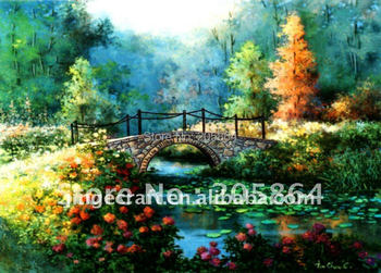 Free shipping gobelin tapestries,scenery style fabric decor picture,wall hinging