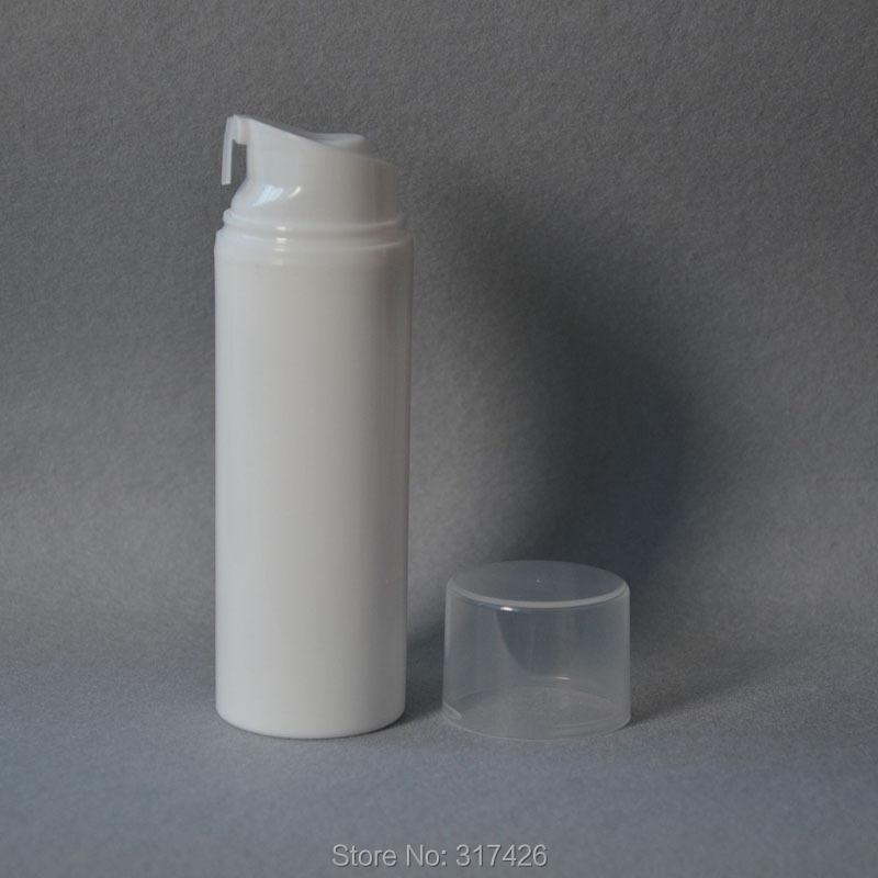 Free Shipping- 100ML airless bottle,crimp pump,vacuum bottle,plastic bottle(China (Mainland))