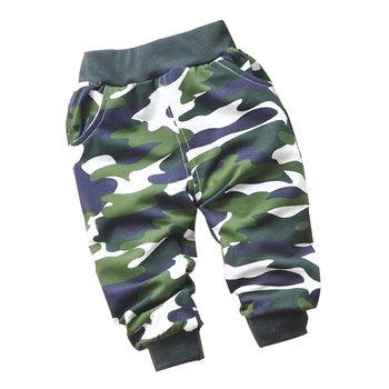 2016 spring new army soldiers style Cotton camouflage baby pants 0-2 year children pants baby boy /girls pants