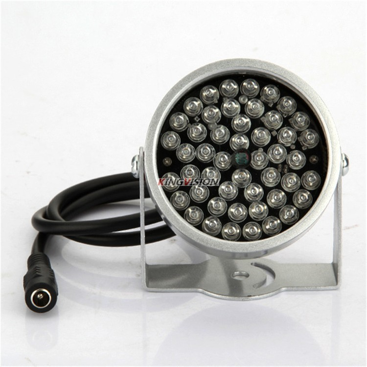 Free shipping 48LEDs Illuminator IR Infrared dome CCTV camera hd Night enhancement Fill light Vision 40M Lamp Securit 850nm 12V