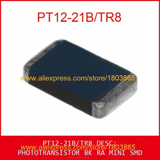 Free Shipping Electronics PT12-21B/TR8 PHOTOTRANSISTOR BK RA MINI SMD PT12-21B 10pcs(China (Mainland))