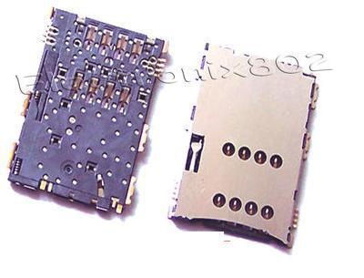 wholesale price 50pcs/lot sim card reader module for Samsung galaxy Tab P1000 sim card reader tray holder connector