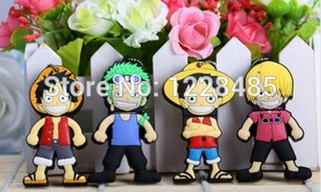 Bestselling One piece family cartoon model Luffy usb flash drive 8GB 16GB 32GB usb flash memory stick pen drive on sale S343(China (Mainland))