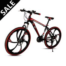 21 Speed Mounatain Bike Bicycle 26 Cargon Steel Double Mechanical Disc Braking 26 inch Mountain Bike 21 Speed Mountain Bicycle
