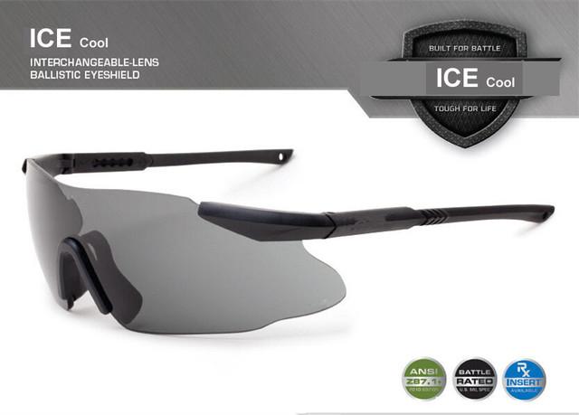 ICE Cool военные очки, 3 линзы и 5 линз, RX вставки, защита от пуль, армейские солнцезащитные ...