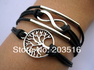 Fashion Vintage Multilayer Rudder Word Leather Bracelet, Unisex Bracelets & Bangles Jewelry YN4042 - jewelry_sky2010 store