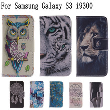Buy Flip Bags phone case PU Leather Cover Protector Skin +Stand & Card Holder Samsung Galaxy S3 i9300 LH for $3.35 in AliExpress store