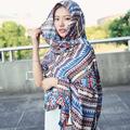 Fashion Winter Scarf for Women Scarf Cashmere Warm Plaid Pashmina Scarf Luxury Brand Blanket Wraps Female Scarves and Shawls