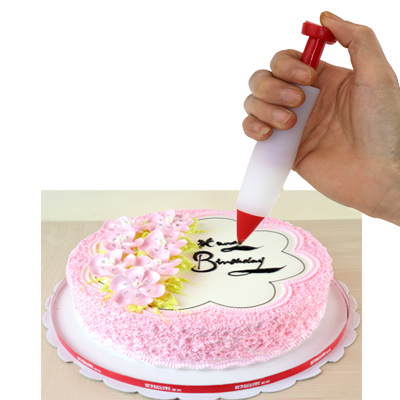 Cake Decorating Chocolate Piping : Kitchen Bakeware Pastry Decoration Pen Cake Decorating ...