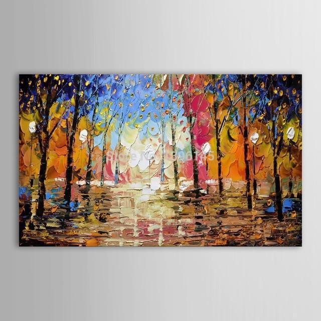 Acquista grande formato 100 dipinto a for Quadri dipinti a mano dipinti moderni idee arredamento