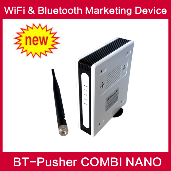 bluetooth message sender wifi proximity marketing device COMBI NANO(advertisement device) with chargeable battery,Car charger(China (Mainland))