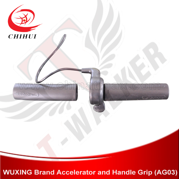 WUXING Brand 36V/48V Throttle & Handlebar Grip for 500W/800W/1000W Foldable Electric Scooter&Electric Bike+Free Shipping(China (Mainland))
