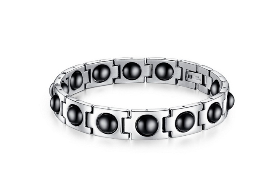 surgical 316l stainless steel jewelry bracelet with